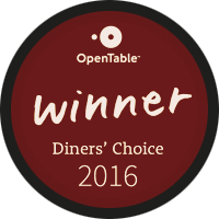 2016 Diner's Choice