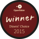 2015 Diner's Choice